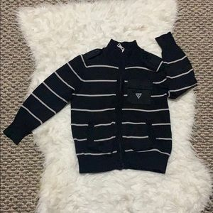 Guess kids zip sweater Very good condition